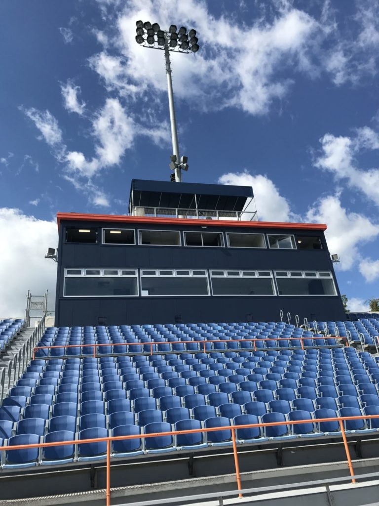 New press box and many other projects completed at Bucknell University