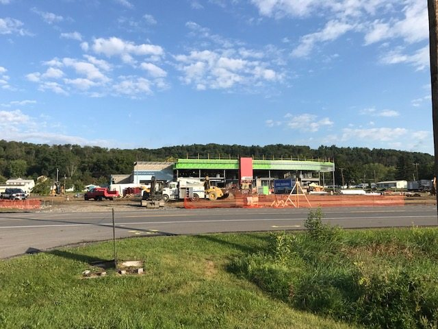 W & L Subaru project moving along quickly in Point Township