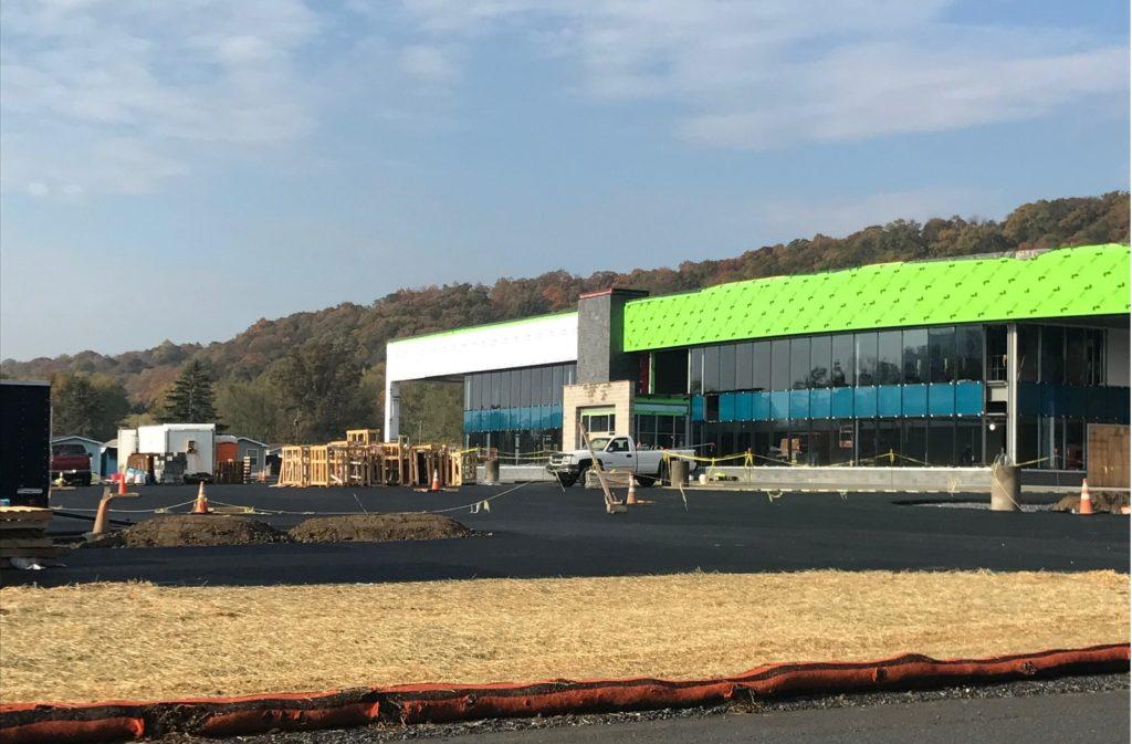 Progress continues at site of the new W&L Subaru