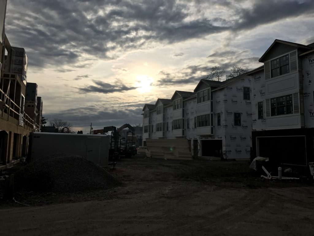 Jacobs Landing construction moving along quickly in Danville