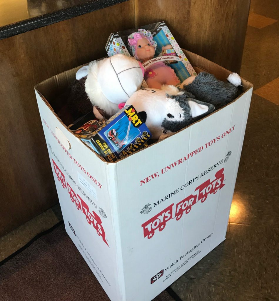 One more week left to collect Toys for Tots at T-Ross Brothers Construction
