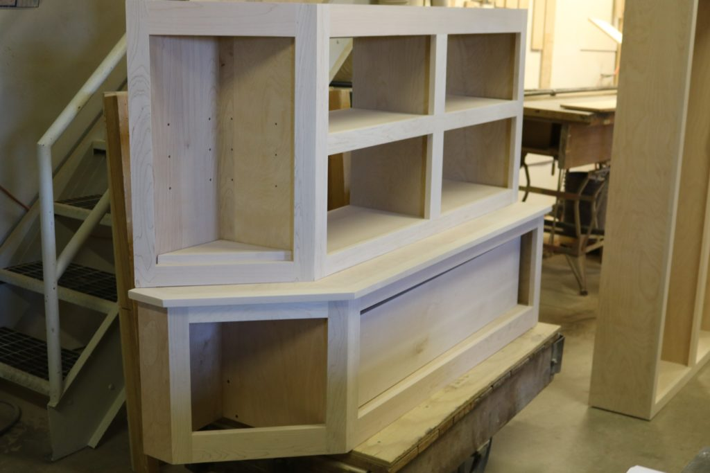 T-Ross Wood Shop builds cabinetry for mud room