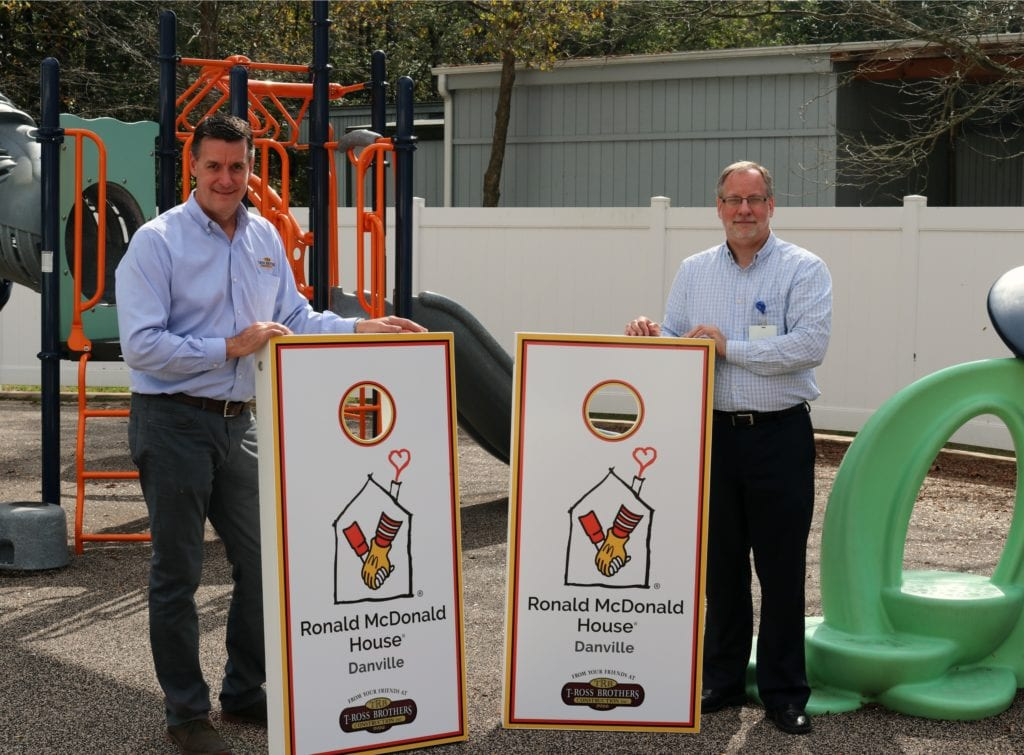 Corn Hole Boards for our Friends at Ronald McDonald House in Danville